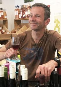 Fabrice Damman, fondateur des caves à vins Le Vin Sobre à Marseille