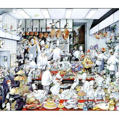 Lundi 8 Juin : ouverture du restaurant à prado : ça (re)chauffe en cuisine !